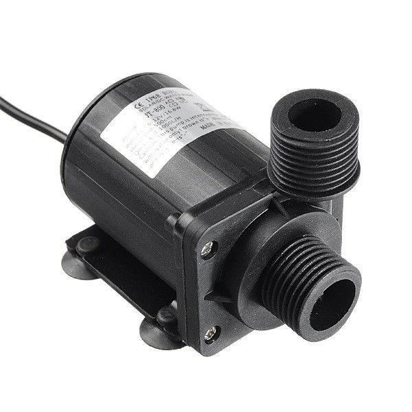 Max 1000 MA 12V DC Water Pump Submersible 5.5 M 1000 L/H Brushless Motor