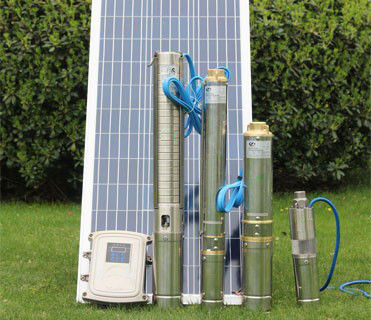 Multi Stage DC Solar Water Pump Solar Stainless Steel 38mm Outlet High Pressure